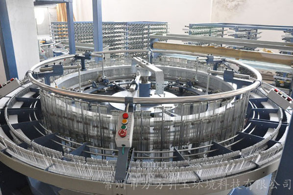 介绍圆织机的清洁保养工作